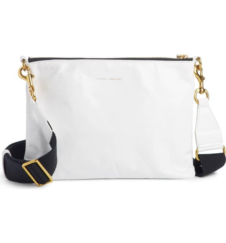 Isabel Marant Nessah Leather Crossbody Bag   Best Designer Bags From ... e4958654be