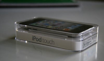 Pictures of the New iPod Touch