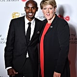 Mo Farah and Clare Balding