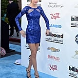 Taylor Swift in Zuhair Murad at Billboard Music Awards.