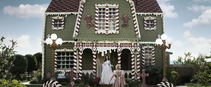 See How One Woman Turned Her Parents' Home Into a Real-Life Gingerbread House