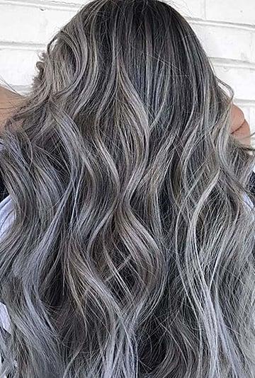 Silver Highlights Pinterest Trend