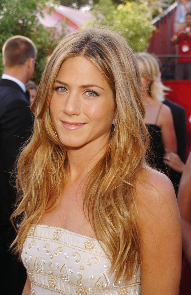 Jennifer Aniston In 2004 Best Emmys Looks Popsugar Beauty Australia Photo 5