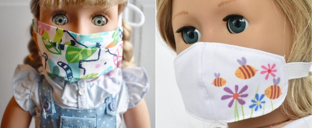 Face Masks For Kids' Dolls on Etsy