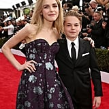 Pictured: Kiernan Shipka and Mason Vale Cotton