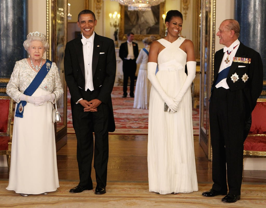 Barack and Michelle Obama State Dinner With Queen
