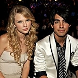 Taylor brought her then-boyfriend, Joe Jonas, as her date to the show in 2008.