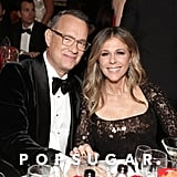 Tom Hanks and Rita Wilson at the 2020 Golden Globes