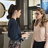 Nicole Maines as Dreamer on The CW's Supergirl Photos