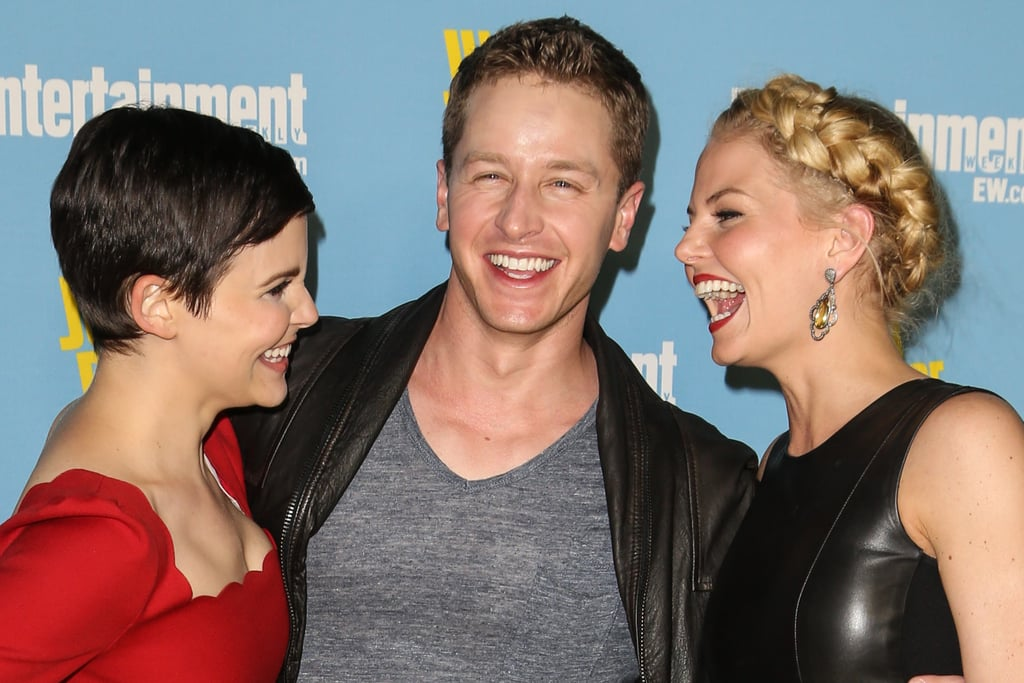 "The cast of Once Upon a Time is super close-knit, but no one acts more like a family than Jennifer Morrison (Emma Swan) and her onscreen parents, Josh Dallas (Prince Charming) and Ginnifer Goodwin (Snow White). Over the years, real-life couple Josh and Ginnifer have shared numerous sweet moments with Jen, and we can't get enough. Whether they're goofing off on set, being super adorable at fan conventions, or dressing up as Harry Potter characters for Halloween, their bond is truly the fairest of them all. Jen even calls them ""mom"" and ""dad"" off set, despite the fact that they're all 38. Aww! See some of their most charming moments together below.      Related:                                                                                                           These Once Upon a Time Cast Photos Are Fairy-Tale Perfect"