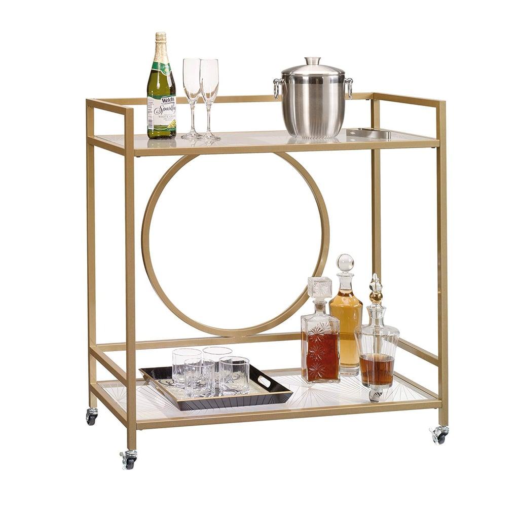 Sauder International Lux Bar Cart