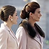 Queen Letizia and Argentina's First Lady Just Showed Everyone Their Style Is on Another Level