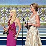 Anna Faris at the 2017 Emmys