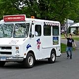 Find an ice cream truck.