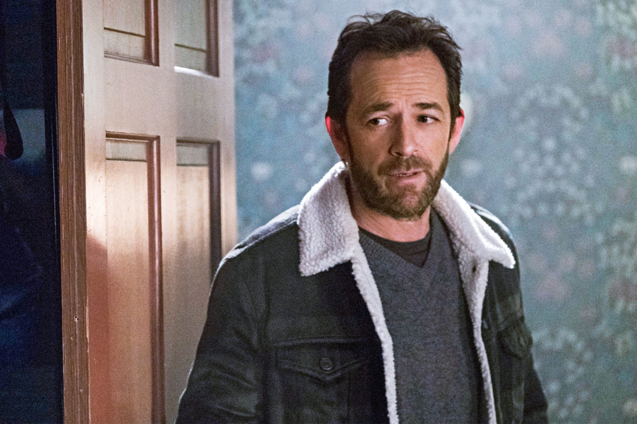 RIVERDALE, Luke Perry in 'Chapter Ten: The Lost Weekend', (Season 1, Episode 110, aired April 13, 2017), ph: Cate Cameron / The CW / Courtesy Everett Collection