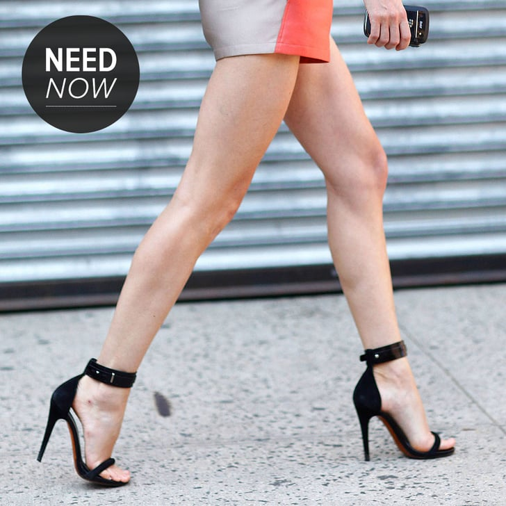 Sandal Heels With Ankle Strap