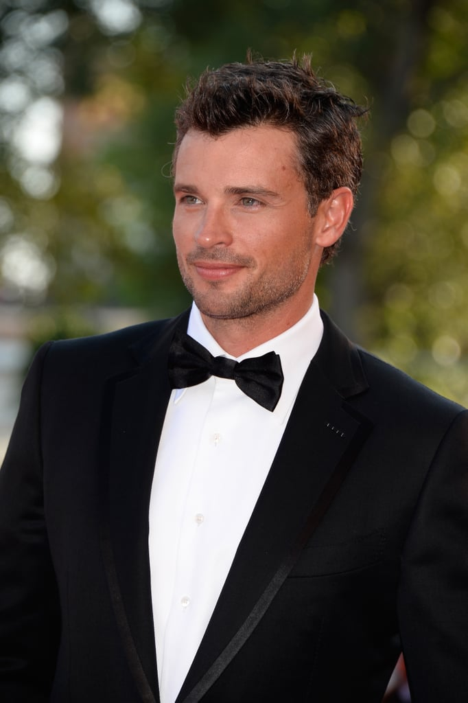 Tom Welling attended the Parkland premiere.