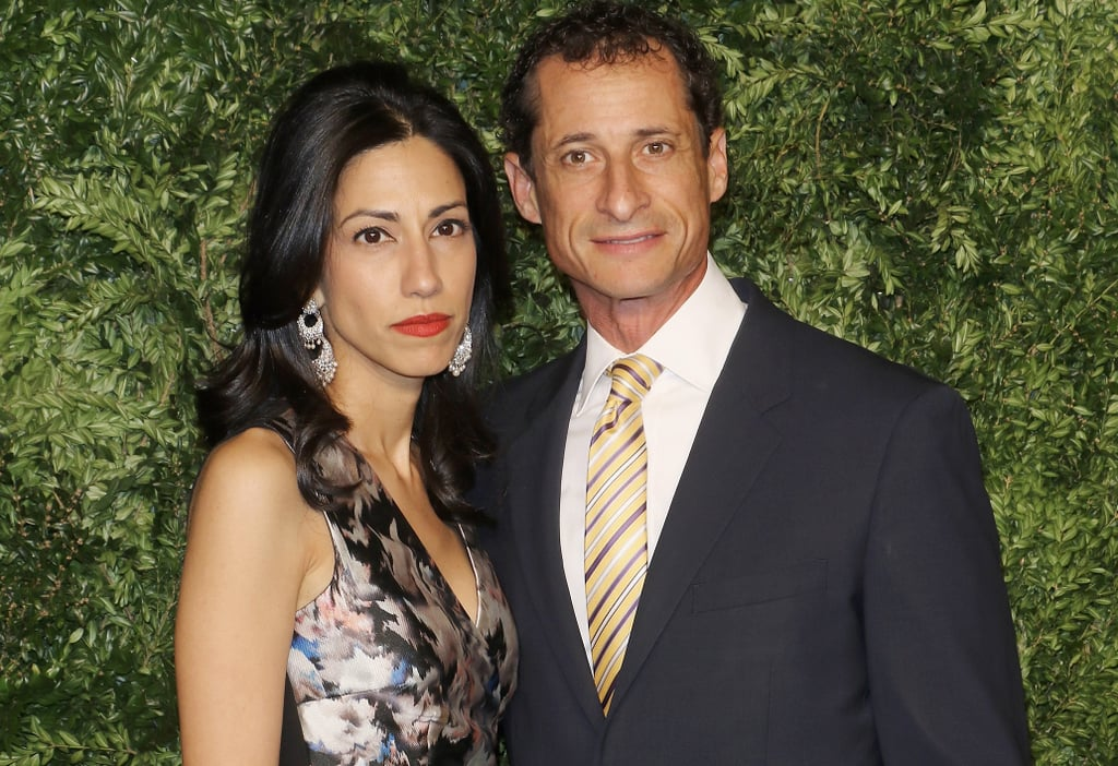Image result for weiner and huma