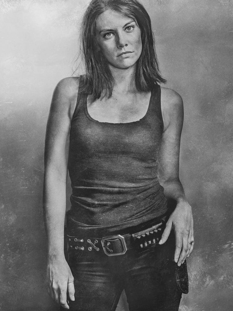 Lauren Cohan Talking About The Walking Dead
