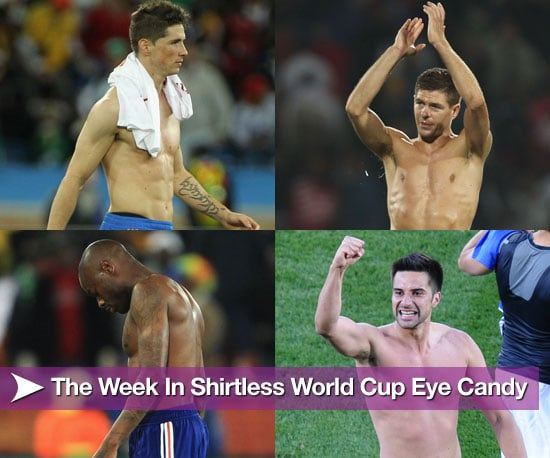 Pictures of Shirtless Football Players From the 2010 World Cup 2010-06-18 08:15:00