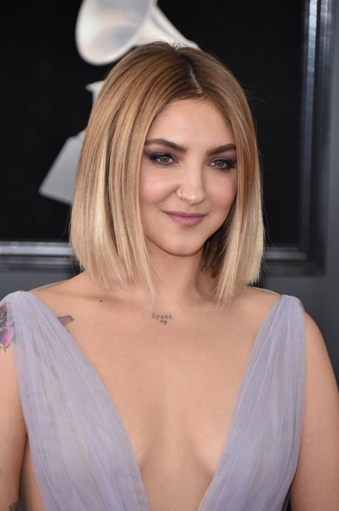 Hair And Makeup At The Grammys 2018 Red Carpet Pictures