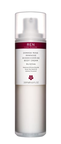 Ren Damask Rose Biosaccharide Body Cream. Product Review: BellaSugar UK