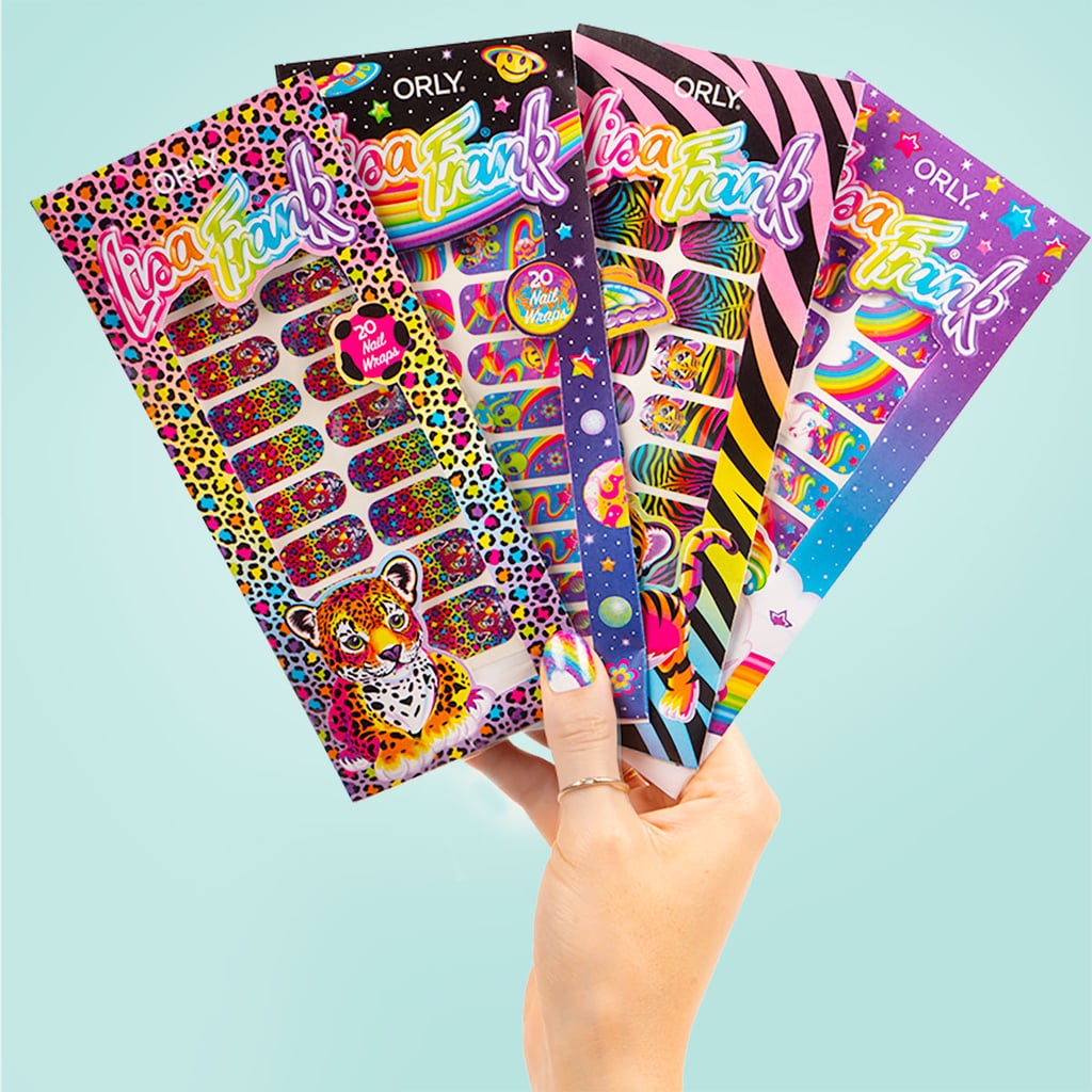 """Lisa Frank's aesthetic influence rages on. Decades after the psychedelically colourful brand took hold over millennials, Lisa Frank has collaborated with Orly to deliver a kitschy nail collection exclusive to Ulta Beauty. Spotlighting familiar characters such as Markie the unicorn and Hunter, a leopard, the collection consists of bright nail-polish trios, glittery topcoats, and several nail wraps — a first for Orly.  """"This collaboration with Lisa Frank was a natural fit as we're two longstanding brands who bring happiness and excitement with colour to our fans. We worked with the Lisa Frank team on every design, every detail, and every shade,"""" Orly's vice president of business development, Tal Pink, said in a press statement. """"Lisa Frank's commitment to quality is uncompromising and we can't wait for fans to create their own enchanting nail art."""" Available both in stores and online, the limited-edition collection ranges in price from $11 to $32. Check it all out ahead, and apologies in advance if you suddenly find yourself stocking up on butterfly clips and snap bracelets."""
