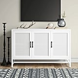 Warwick Three Door Accent Media Cabinet