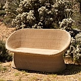 Pierce Rattan Two-Seater Chair