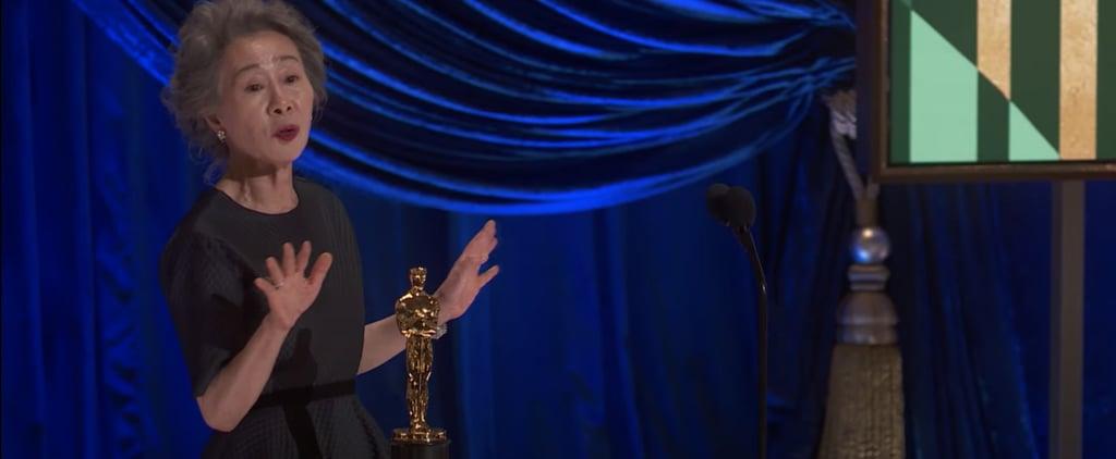Yuh-Jung Youn's 2021 Oscars Acceptance Speech | Video
