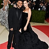 She attended the gala with her boyfriend at the time, The Weeknd.