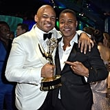 Pictured: Anthony Hemingway and Cuba Gooding Jr.