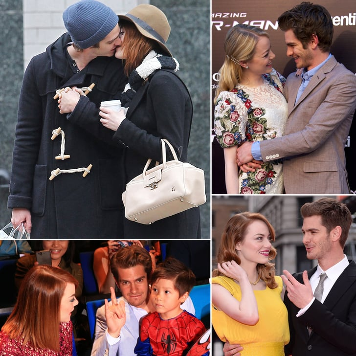 Andrew Garfield And Emma Stone S Cutest Pictures Popsugar Celebrity