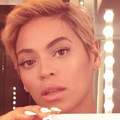 Beyonce Short Haircut 2013
