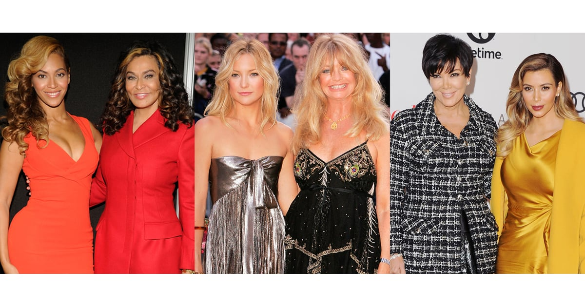 Celebrity Mother Daughter Style Quiz Popsugar Fashion