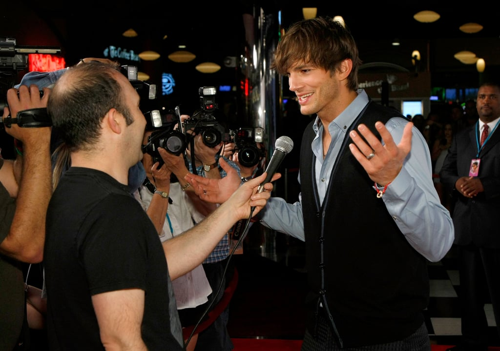 Photos of Ashton Kutcher in Vegas