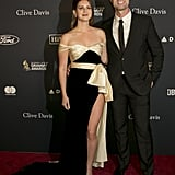 Lana Del Rey and Sean Larkin at Clive Davis's 2020 Pre-Grammy Gala in LA