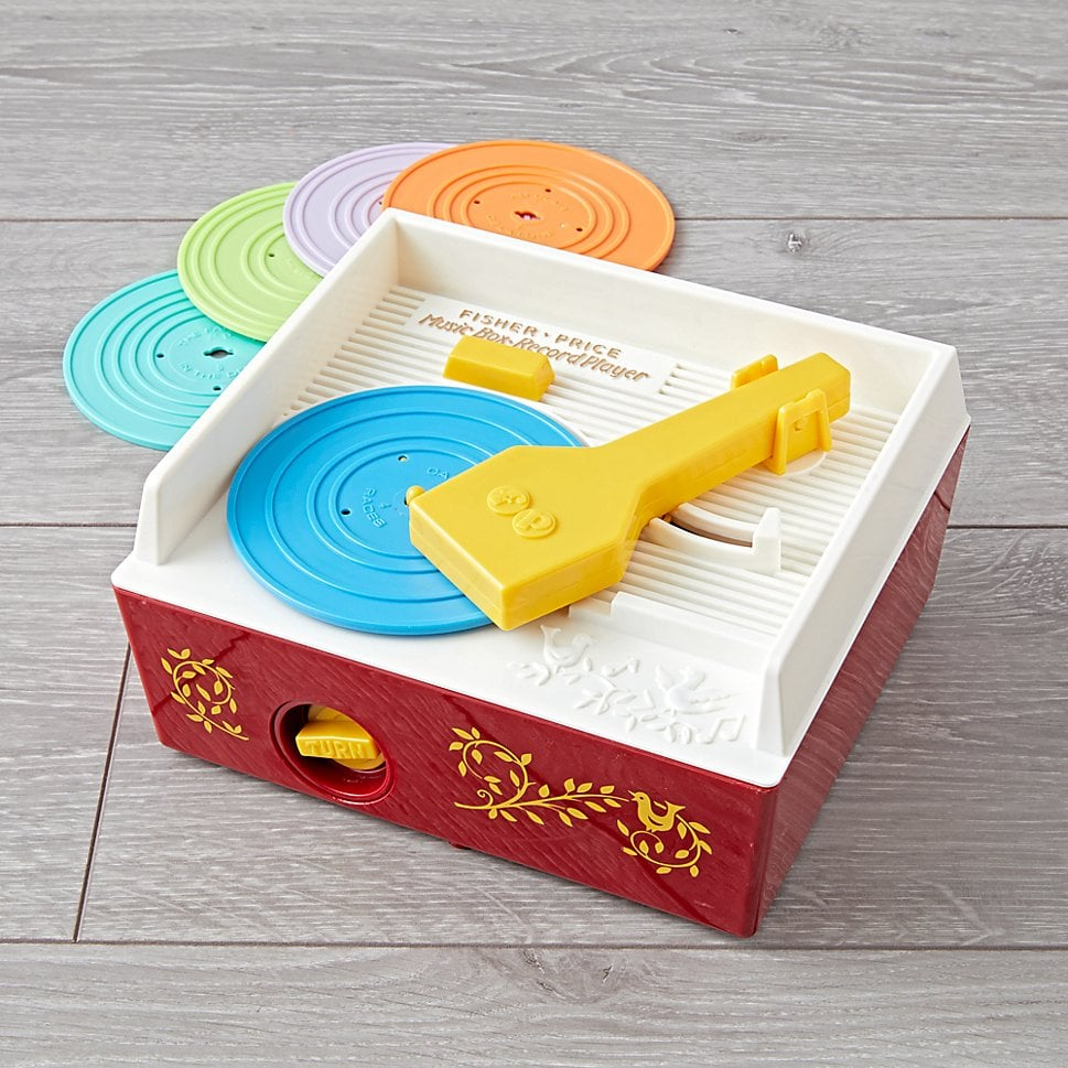 For 1-Year-Olds: Fisher Price Record Player
