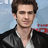 Andrew Garfield posed at the Berlin photocall for The Amazing Spider-Man.