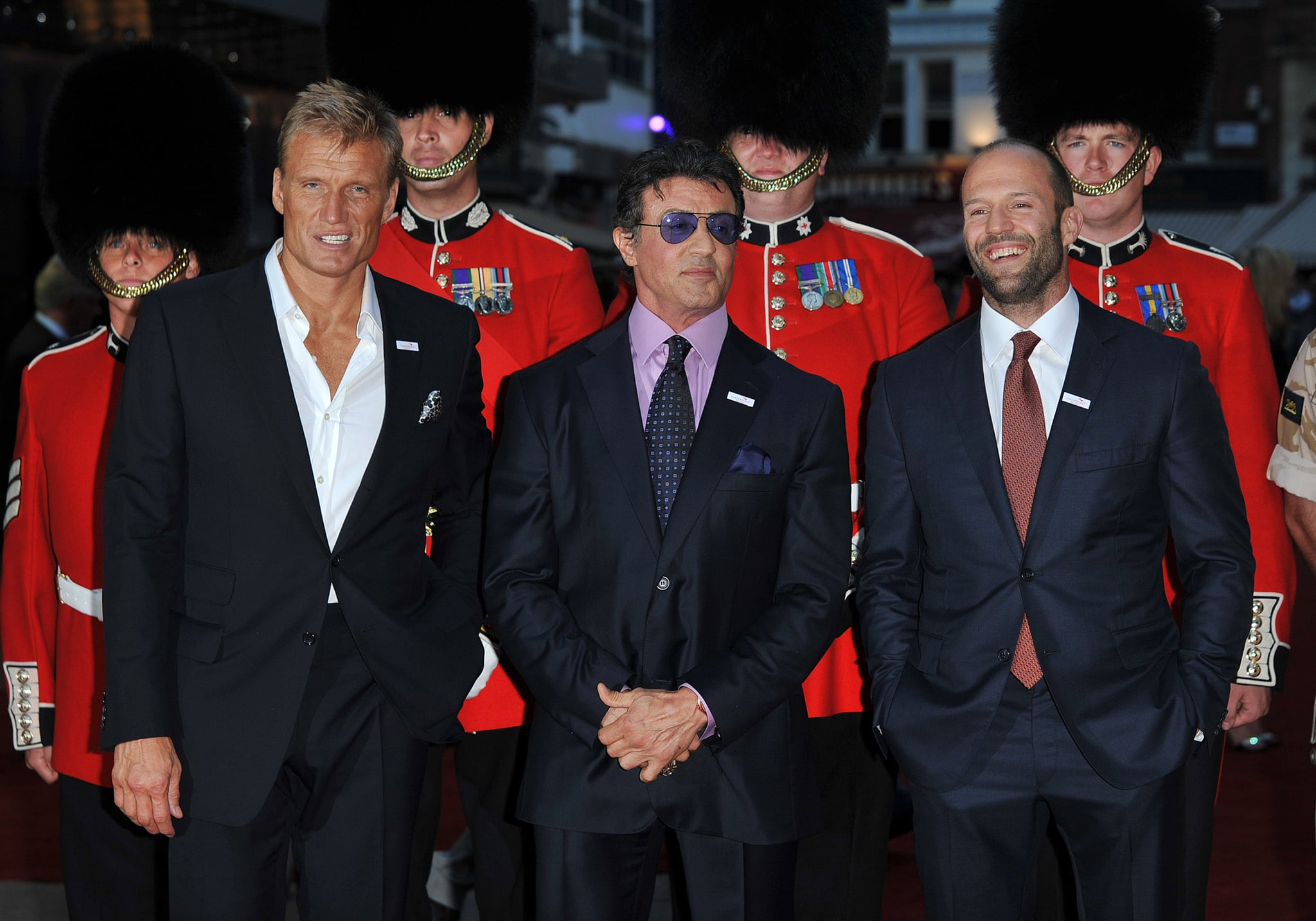 the expendables london premiere including katie price