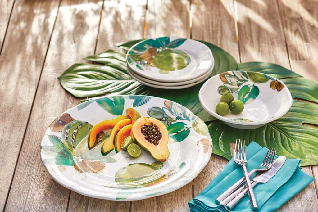 Set a table fit for the tropics