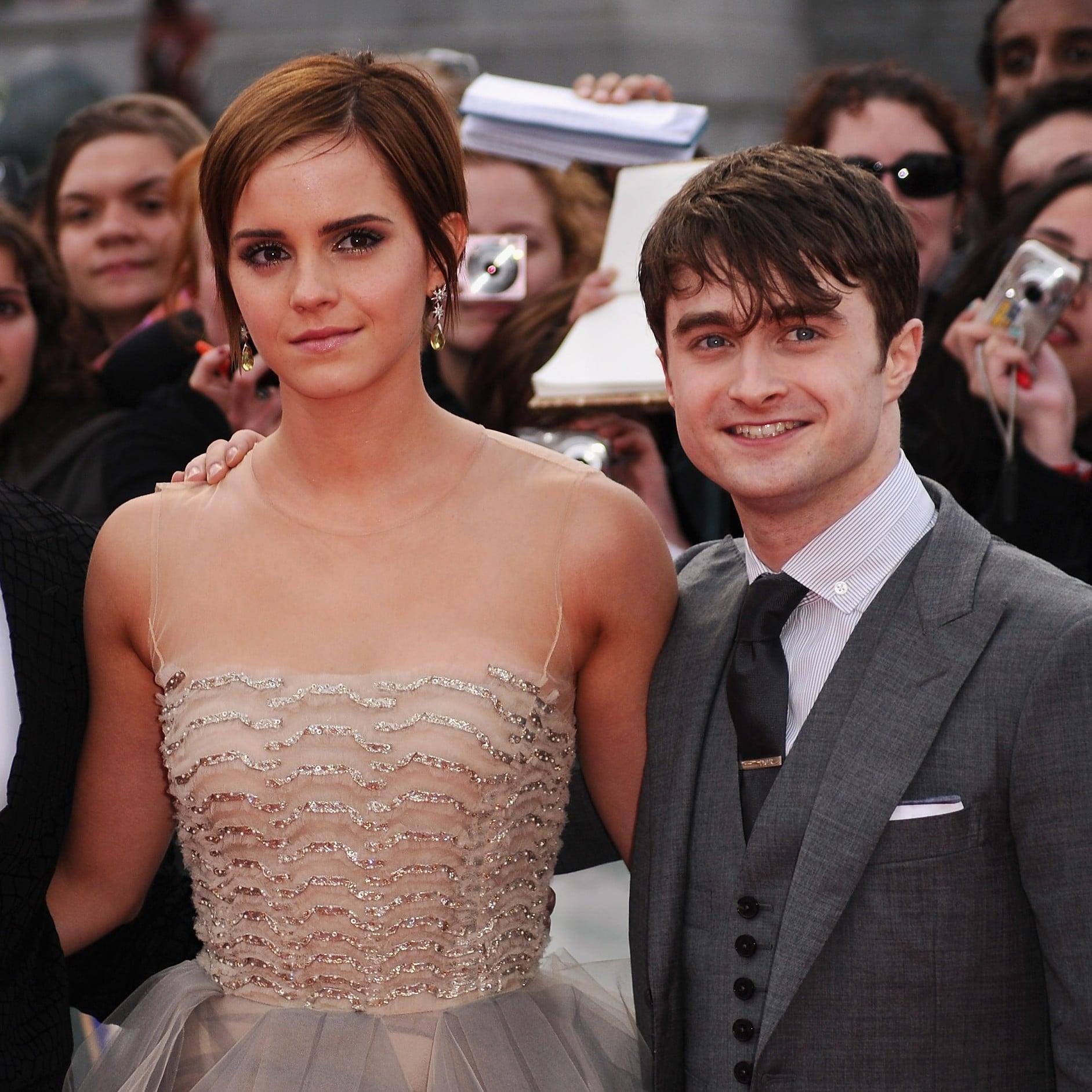 Emma Watson Talks About Harry Potter Cast