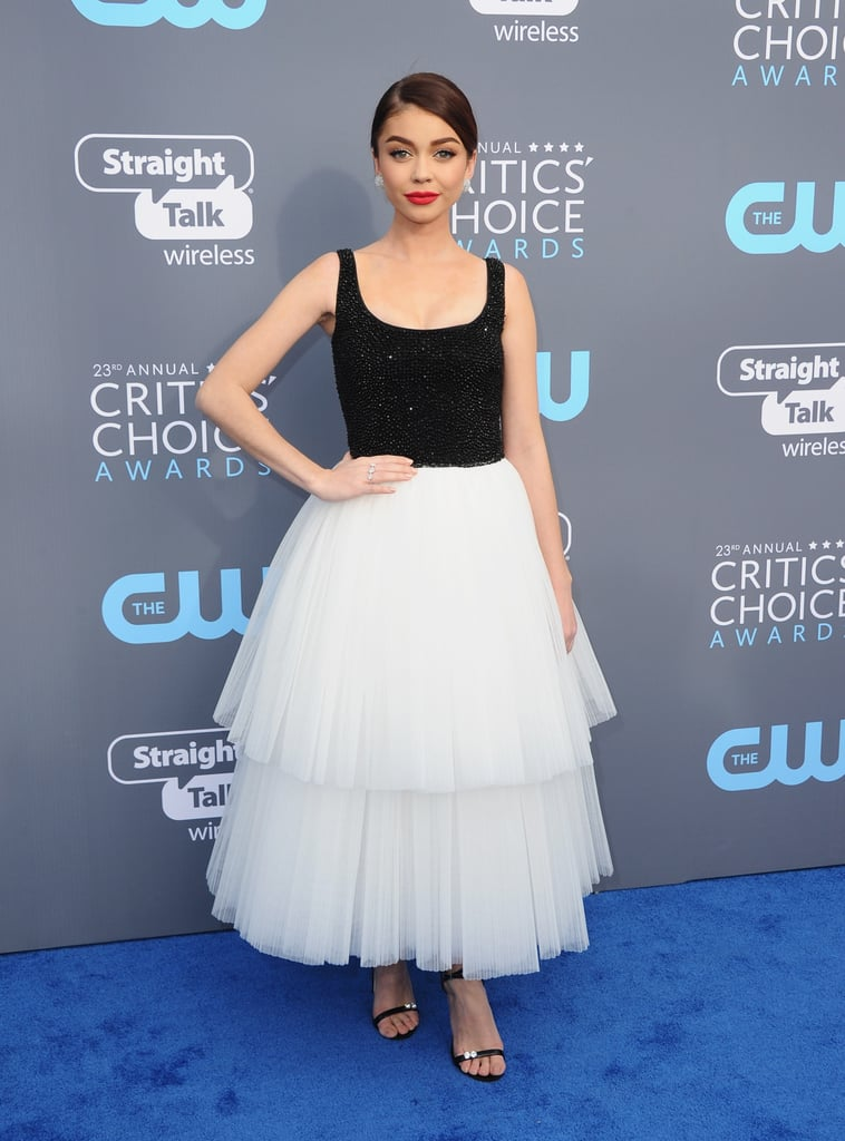 Sarah Hyland's Critics' Choice Awards Dress 2018