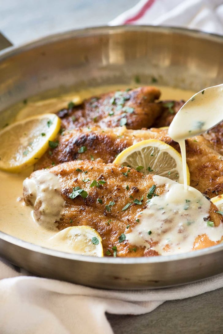 Creamy Lemon Chicken And Linguine Italian Chicken