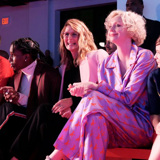 Laura Dern Watching Son Ellery at NYFW Sept. 2018