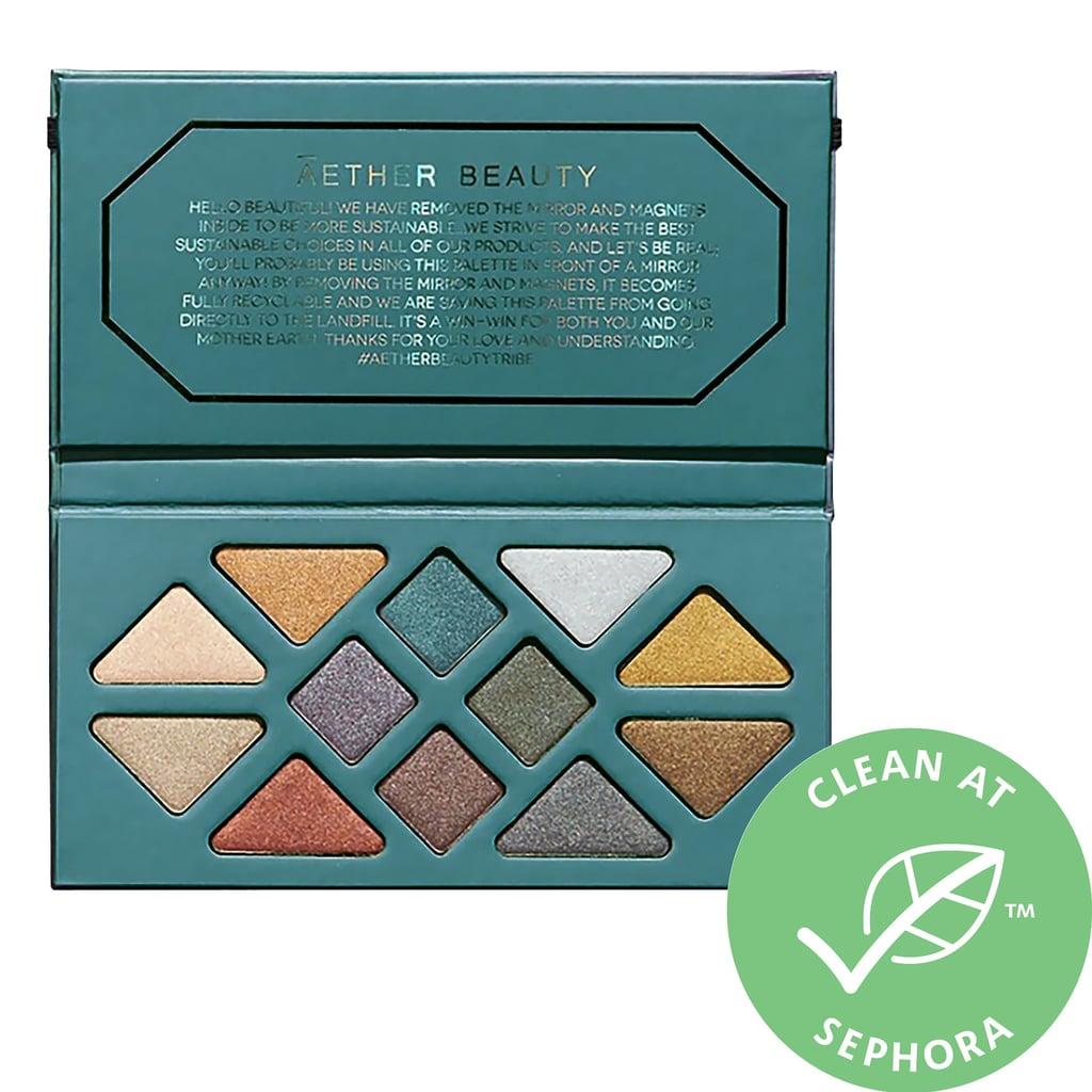 Aether Beauty Crystal Grid Gemstone Eyeshadow Palette