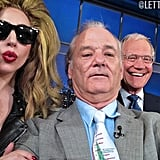 Here's what happened when Lady Gaga and Bill Murray visited Late Show With David Letterman in April 2014.