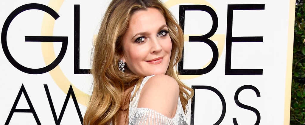 We Are Really Feeling How Much Drew Barrymore Is Feeling Herself at the Golden Globes