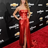 Shia LaBeouf and Rosie Huntington-Whiteley Pictures at Transformers: Dark of the Moon Premiere