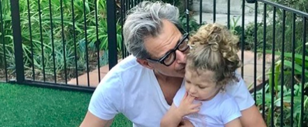 """Jeff Goldblum Says He Feels """"Right on Schedule"""" as a 65-Year-Old Newer Dad, and We're Not Surprised"""